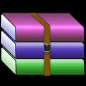 WinRAR compression fichier
