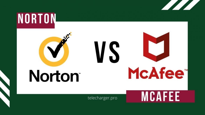 comparatif logiciel Antivirus Norton contre McAfee